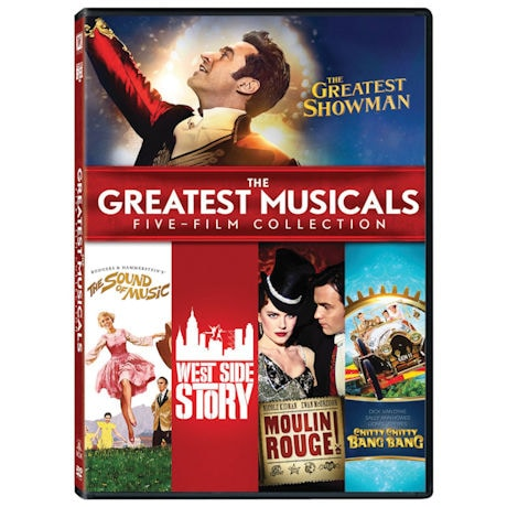 The Greatest Musicals Collection DVD
