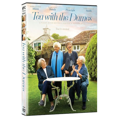 Tea with the Dames DVD & Blu-Ray