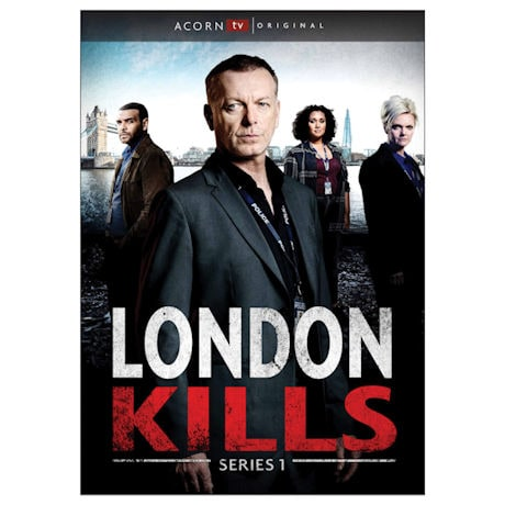 London Kills: Series 1 DVD & Blu-ray