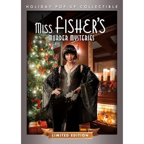 Miss Fisher's Murder Mysteries Christmas Episode DVD in Collectible Pop-Up - Limited Edition