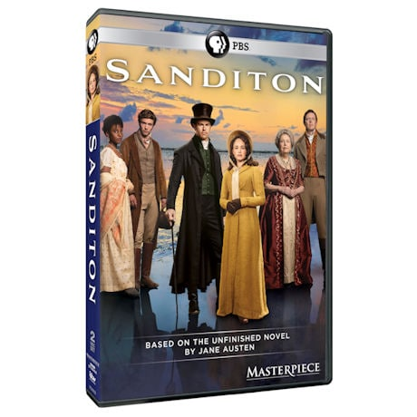 Masterpiece: Sanditon (UK Edition) DVD & Blu-ray