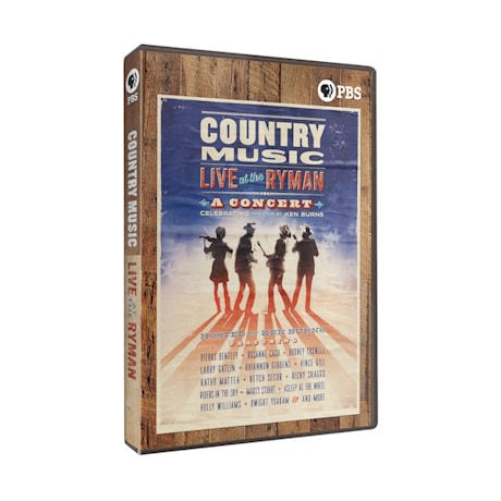 Country Music: Live at the Ryman DVD