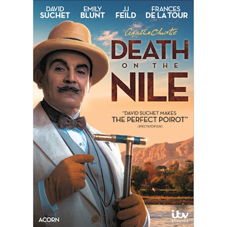 Agatha Christie's Death On the Nile DVD & Blu-ray