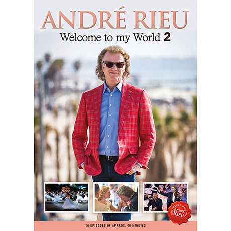 André Rieu: Welcome to My World 2 DVD (3 discs)