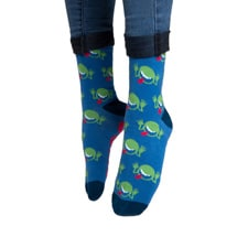 Alternate Image 1 for The Hitchhiker's Guide to the Galaxy Socks