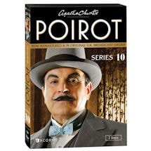Product Image for Agatha Christie's Poirot: Series 10 DVD & Blu-ray