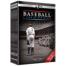 Baseball: A Film by Ken Burns 2010 Boxed Set (includes The Tenth Inning) DVD