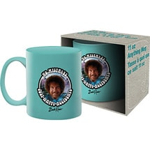 Alternate Image 1 for Bob Ross 'Happy Accidents' Mug
