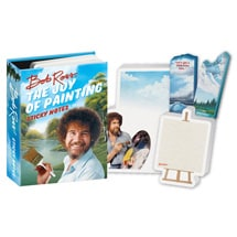 Alternate Image 1 for Bob Ross The Joy of Painting Sticky Notes