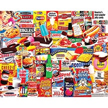 Alternate Image 1 for Things I Ate As A Kid 1000 Piece Puzzle