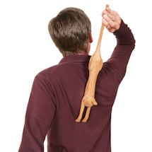 Alternate Image 2 for Wooden Cat Back Scratcher
