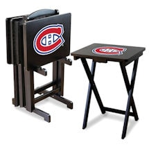 Alternate Image 3 for NHL TV Tray Set