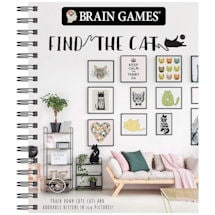 Product Image for Find The Cat -  Brain Games - Picture Book