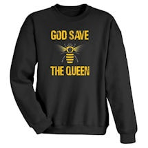 Alternate Image 1 for God Save The Queen Shirts