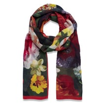 Product Image for Delacroix Basket of Flowers Shawl