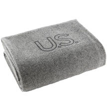 Product Image for Foot Soldier Military Wool Blankets - US Navy Gray
