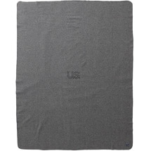Alternate Image 1 for Foot Soldier Military Wool Blankets - US Navy Gray