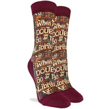 Product Image for Go to the Library Women's Active Socks