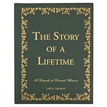 Product Image for Personalized The Story of a Lifetime: A Keepsake of Personal Memoirs