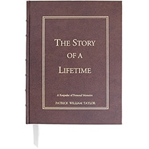 Alternate Image 2 for Personalized The Story of a Lifetime: A Keepsake of Personal Memoirs