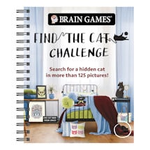 Product Image for Find the Cat Challenge Spiral-Bound Book