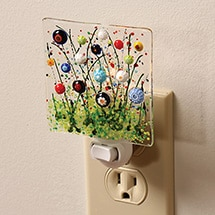 Product Image for Millefiori Wildflowers Night Light
