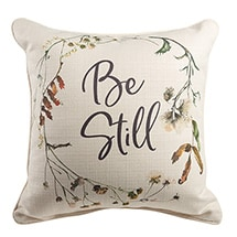 Product Image for Be Still Pillow