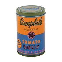 Product Image for Andy Warhol Campbell's Soup Can Crayon Set