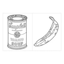 Alternate Image 1 for Andy Warhol Coloring Book