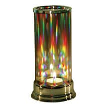 Alternate Image 2 for Rainbow Prism Crystal Candleholder