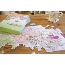Alternate Image 3 for Personalized Hometown Jigsaw Puzzle
