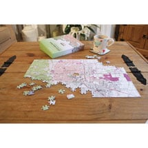 Alternate Image 5 for Personalized Hometown Jigsaw Puzzle