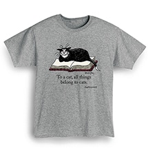 Product Image for Edward Gorey - 'To A Cat' Shirts