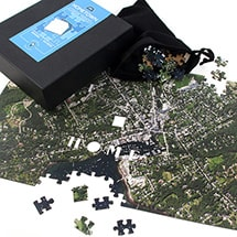Product Image for Home Sweet Home Wooden Satellite Puzzle - Centered on Your Home Address