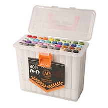 Product Image for The Ultimate Dual-Tip Artist's Markers Set - 40 Colors