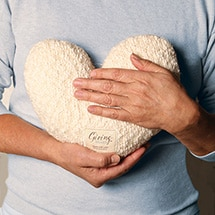 Alternate Image 1 for Giving Heart Weighted Pillow