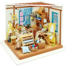 Product Image for DIY Miniature Sewing / Quilting Room Kit