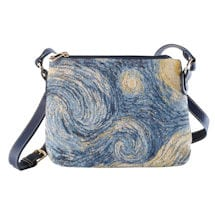 Alternate Image 2 for Fine Art Tapestry Crossbody Bags