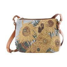 Alternate Image 3 for Fine Art Tapestry Crossbody Bags