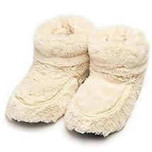Product Image for Therapeutic Plush Boot Slippers (Cream)