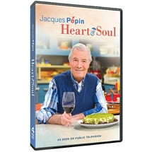 Jacques Pepin: Heart & Soul DVD