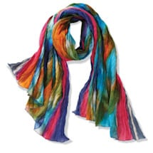 Product Image for Northern Lights Crinkly Cotton Fashion Scarf