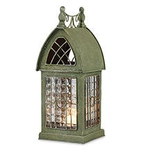 Product Image for Glass Panel Architectural Tealight Lantern - Durham