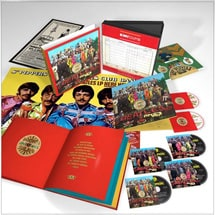 Alternate Image 1 for Sgt. Pepper's Lonely Hearts Club Band Super Deluxe Edition DVD/Blu-ray/CD