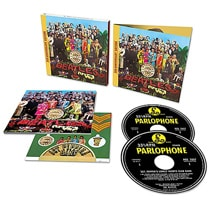Alternate Image 2 for Sgt. Pepper's Lonely Hearts Club Band Super Deluxe Edition DVD/Blu-ray/CD