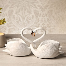 Product Image for Loving Swans Sculptures
