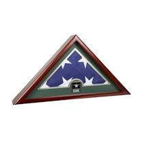 Alternate Image 1 for Military Service Branches US Flag Frame