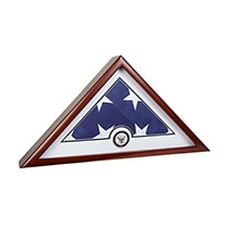 Alternate Image 7 for Military Service Branches US Flag Frame