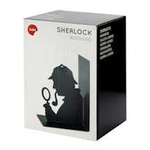 Alternate Image 2 for Sherlock Holmes Silhouette Bookend
