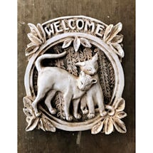 Product Image for Cat Welcome Plaque
